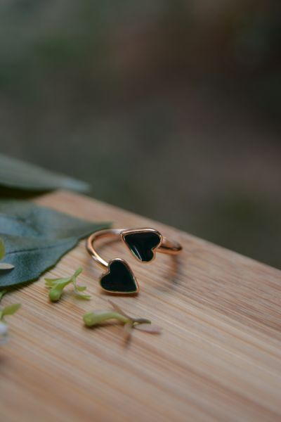 Artbutika İki Kalp Eklem Yüzüğü