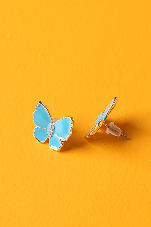 Artbutika Mineli Kelebek Küpe