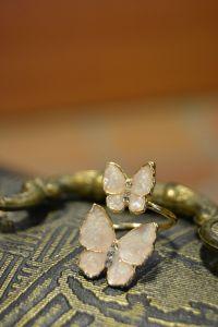 Artbutika Mineli Kelebek Yüzük