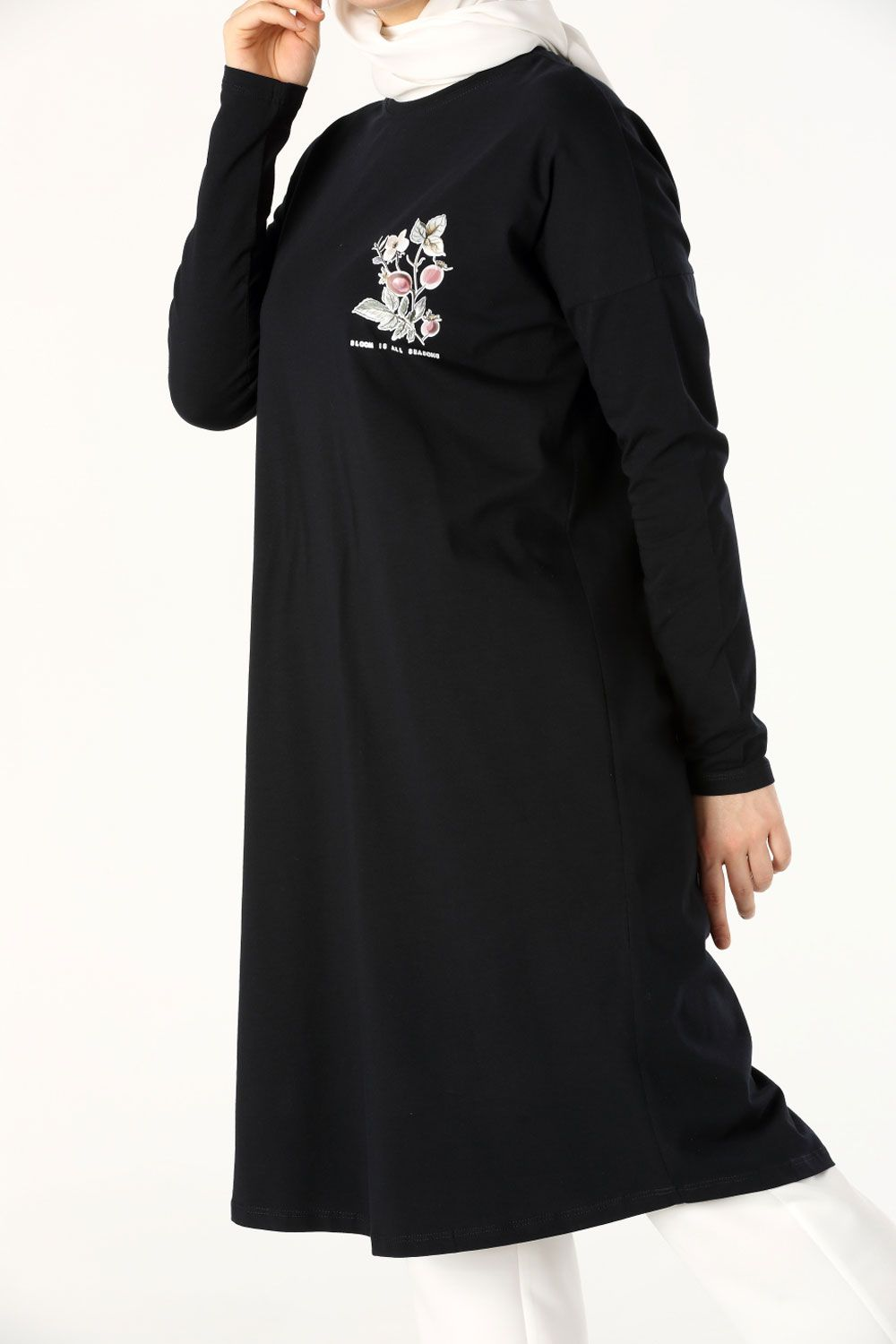 PRINTED COMBED TUNIC