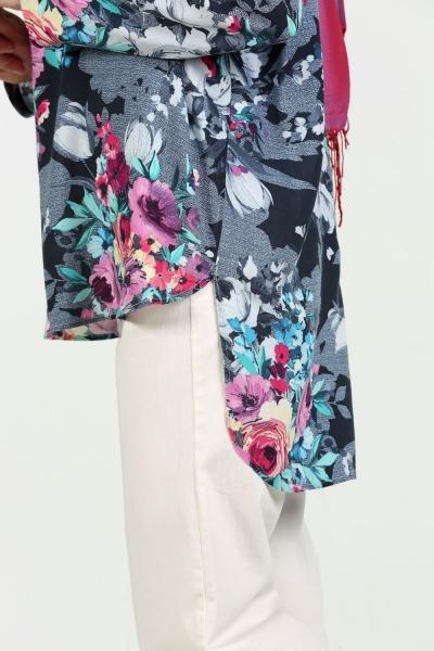 Çiçek Desenli Bluz