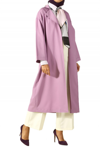 DROP SLEEVE CAPE WITH POCKET