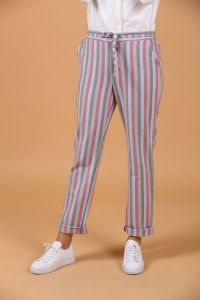 STRIPED HIJAB PANTS