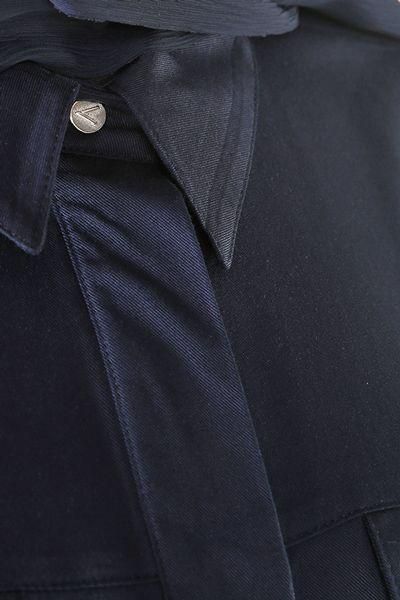 Hidden Pop Button Shirt