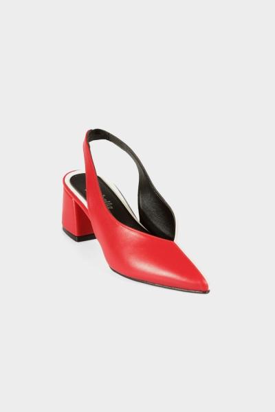 Kare Topuk Ayakkabı