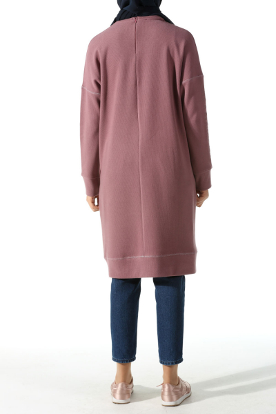 PRINTED SLEEVE COMBED TUNIC