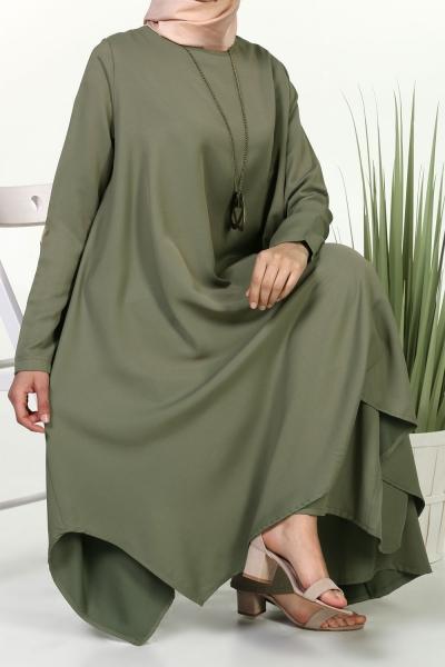 Kolyeli Tunik & Pantolon Takım