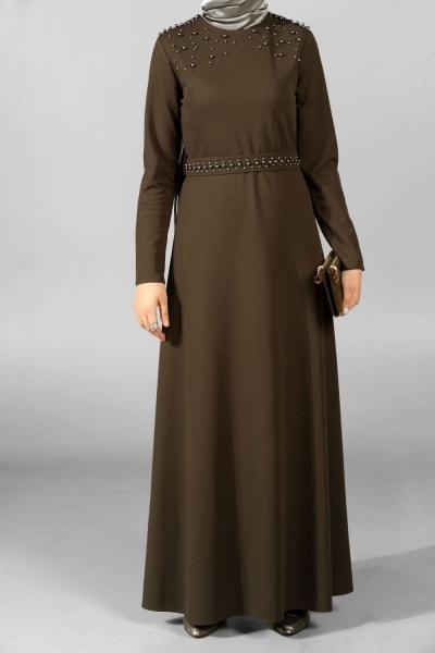 Kuşaklı İncili Elbise