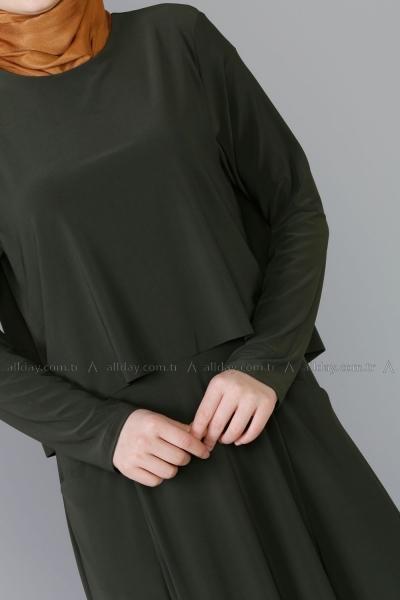 Pelerinli Elbise