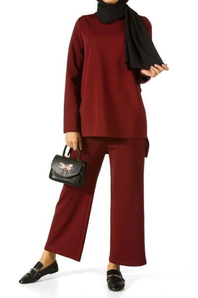 Shirt And Pants Hijab Suit