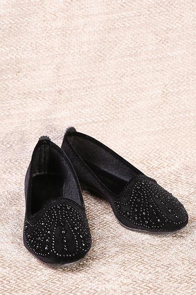 Taş Baskılı Ev Ayakkabısı