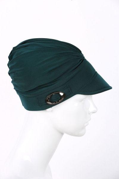 BUCKLED HAT BONNET