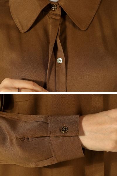 Sık Düğmeli Yarım Patlı Tunik
