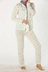 Üçlü Pijama Takımı
