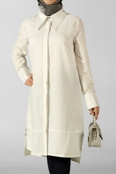 Placket Tunic With Split