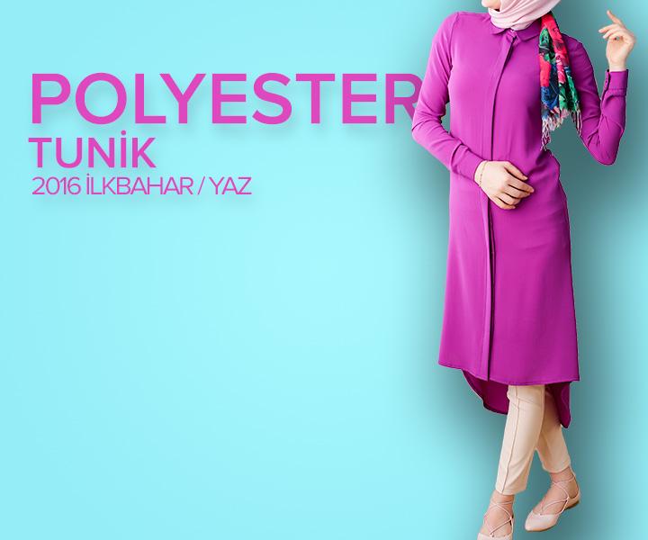 Polyester Tunik